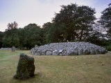 Clava Cairns, Group of Neolithic Tombs Near Inverness, Highland Region, Scotland, United Kingdom Photographic Print by Patrick Dieudonne
