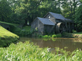 Mabry Mill, Restored and Working, Blue Ridge Parkway, South Appalachian Mountains, Virginia, USA Photographie par Robert Francis