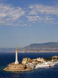 Madonnina Del Porto Statue, Port of Messina, Island of Sicily, Italy, Mediterranean, Europe Photographic Print by Richard Cummins