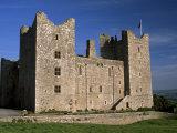 Bolton Castle, Where Mary Stuart Was Imprisoned, Wensleydale, Yorkshire Dales N. Park, England Photographic Print by Patrick Dieudonne