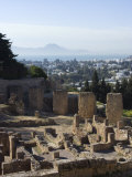 Byrsa Hill, the Original Punic Site at Carthage, UNESCO World Heritage Site, Near Tunis, Tunisia, Photographic Print
