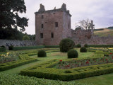 Edzell Castle Dating from the 17th Century, Angus, Scotland, UK Photographic Print by Patrick Dieudonne