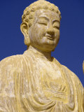 Statue of the Buddha at Nhu Lai Temple, Vung Tau Peninsula, Vietnam, Indochina, Southeast Asia, Photographic Print