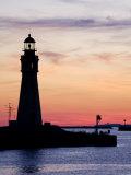Buffalo Lighthouse, Buffalo Port, New York State, United States of America, North America Photographic Print by Richard Cummins