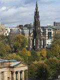 Walter Scott Memorial, Edinburgh, Scotland, United Kingdom, Europe Photographic Print by Ethel Davies