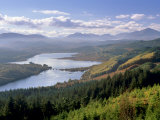 Loch Garry and Glen Garry, Near Fort Augustus, Highland Region, Scotland, United Kingdom, Europe Photographic Print by Patrick Dieudonne