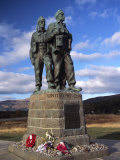 Commando Memorial, a World War II Memorial, Fort William Area, Highland Region, Scotland, UK Photographic Print by Patrick Dieudonne