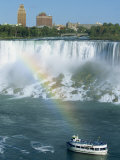 American Falls on the Niagara River That Flows Between Lakes Erie and Ontario, Canada Photographic Print by Robert Francis