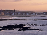 Stonehaven, Sunset, Aberdeenshire, Scotland, United Kingdom, Europe Photographic Print by Patrick Dieudonne
