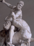 Hercules and Nessus by Giambologna, Loggia Della Signoria, Florence, Tuscany, Italy Photographic Print by Patrick Dieudonne