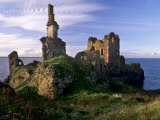 Sinclair Castle Near Wick, Caithness, Scotland, United Kingdom, Europe Photographic Print by Patrick Dieudonne
