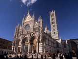 Duomo Dating from Between the 12th and 14th Centuries, Siena, Tuscany, Italy Photographic Print by Patrick Dieudonne