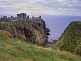 Dunnotar Castle Dating from the 14th Century, Near Stonehaven, Aberdeenshire, Scotland, UK Photographic Print by Patrick Dieudonne