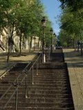 Looking Up the Famous Steps of Montmartre, Paris, France, Europe Photographic Print by Robert Cundy