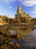 Dunvegan Castle of the Macleods of Skye, Isle of Skye, Highlands, Scotland, UK Photographic Print by Patrick Dieudonne