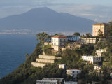 Mount Vesuvius View and Vico Equense, Near Naples, Campania, Italy, Mediterranean, Europe Photographic Print by Ethel Davies