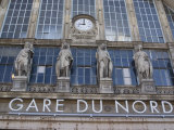 Gare Du Nord Railway Station, and Eurostar Terminal, Paris, France, Europe Photographic Print by Ethel Davies