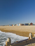Beach Huts, Hayling Island, Hampshire, England, United Kingdom, Europe Photographic Print by James Emmerson