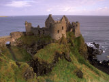 Dunluce Castle, Antrim Coast, Near Portrush, County Antrim, Ulster, Northern Ireland, UK Photographic Print by Patrick Dieudonne