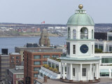 19th Century Clock Tower, One of the City's Landmarks, Halifax, Nova Scotia, Canada, North America Photographic Print by Ethel Davies