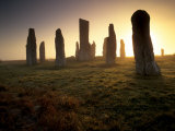 Callanish Standing Stones, Isle of Lewis, Outer Hebrides, Scotland Photographic Print by Patrick Dieudonne