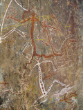 Nourlangie Rock, Aboriginal Rock Art Site in Kakadu National Park, Northern Territory, Australia Photographic Print by Robert Francis