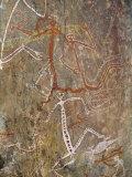 Nourlangie Rock, Aboriginal Rock Art Site in Kakadu National Park, Northern Territory, Australia Photographic Print by Robert Francis