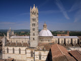 Duomo, Dating from Between the 12th and 14th Centuries, Siena, Tuscany, Italy Photographic Print by Patrick Dieudonne