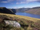 Loch Muick and Lochnagar, Near Ballater, Aberdeenshire, Scotland, United Kingdom, Europe Reproduction photographique par Patrick Dieudonne