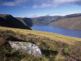 Loch Muick and Lochnagar, Near Ballater, Aberdeenshire, Scotland, United Kingdom, Europe Photographic Print by Patrick Dieudonne