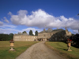 Haddo House, Elegant Country House, Georgian Exterior, Near Tarves, Aberdeenshire, Scotland, UK Photographic Print by Patrick Dieudonne
