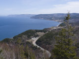 Cabot Trail, Cape Breton Highlands National Park, Cape Breton, Nova Scotia, Canada, North America Photographic Print by Ethel Davies