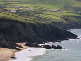 Rocky Coast and Beach, Slea Head, Dingle Peninsula, County Kerry, Munster, Republic of Ireland Photographic Print by Patrick Dieudonne
