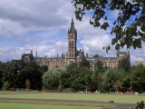 Glasgow University Dating from the Mid-19th Century, Glasgow, Scotland, United Kingdom, Europe Photographic Print by Patrick Dieudonne