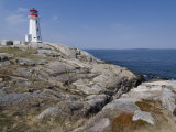 Lighthouse, Peggy's Cove, Nova Scotia, Canada, North America Photographic Print by Ethel Davies