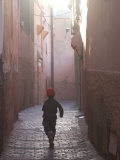 Back Street of Marrakech, Morocco, North Africa, Africa Photographic Print by Ethel Davies
