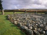 Loanhead of Daviot Stone Circle, Daviot, Aberdeenshire, Scotland Photographic Print by Patrick Dieudonne