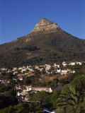Lion's Head Mountain and Camps Bay, a Suburb of Cape Town, South Africa, Africa Photographic Print by Robert Cundy