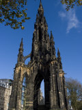 Walter Scott Memorial, Edinburgh, Scotland, United Kingdom, Europe Photographic Print by Ethel Davies
