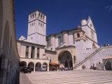 Basilica Di San Francesco Di Assisi, Assisi, Umbria, Italy Photographic Print by Patrick Dieudonne
