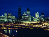 Perth City Skyline, Western Australia, Australia, Pacific Photographic Print by Alain Evrard