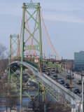 Macdonald Bridge, Halifax-Dartmouth, Nova Scotia, Canada, North America Photographic Print by Ethel Davies