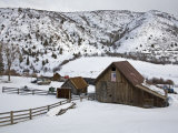 Barn Near Snowmass Village, Aspen Region, Rocky Mountains, Colorado, USA Photographic Print by Richard Cummins