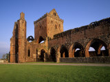 Sweetheart Abbey, Cistercian Abbey, New Abbey, Dumfries and Galloway, Scotland, UK Photographic Print by Patrick Dieudonne