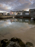 Old Harbour Dating from the 17th Century, of Portsoy at Sunset, Near Banff, Aberdeenshire, Scotland Photographic Print by Patrick Dieudonne