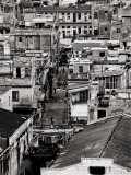 Rooftops of Havana Centro from 8th Floor of Hotel Seville, Havana, Cuba Photographic Print by Lee Frost