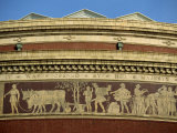 Detail on the Royal Albert Hall, Built in 1871, Kensington, London, England, UK Photographic Print by Robert Francis