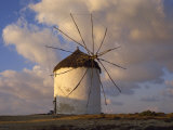 Typical Greek Windmill in Antiparos Town, Antiparos, Cyclades, Greek Islands, Greece, Europe Photographic Print by Robert Francis