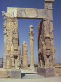 Gateway of Xerxes, Persepolis, UNESCO World Heritage Site, Iran, Middle East Photographic Print by Jennifer Fry