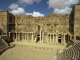 Roman Theatre Dating from the 2nd Century AD, Bosra, UNESCO World Heritage Site, Syria, Middle East Photographic Print by Ursula Gahwiler